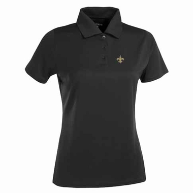 New Orleans Saints Womens Exceed Polo (Color: Black)