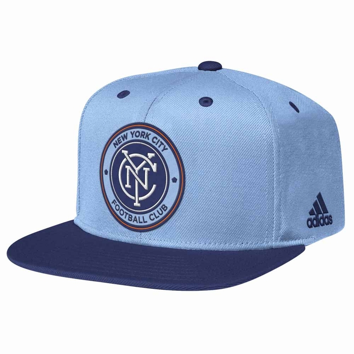 f8effe05c88 New York City FC Adidas Authentic Inaugural Season Snap Back Hat