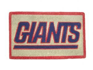 New York Giants 18x30 Bleached Welcome Mat