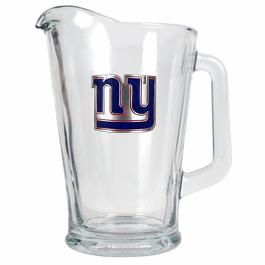 New York Giants 60 oz Glass Pitcher