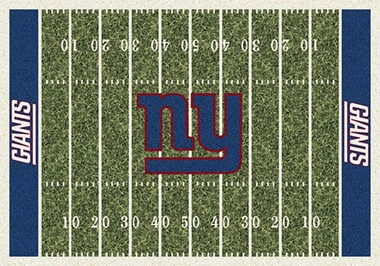 "New York Giants 7'8"" x 10'9"" Premium Field Rug"
