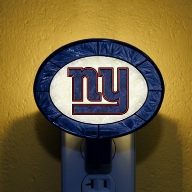 New York Giants Art Glass Night Light