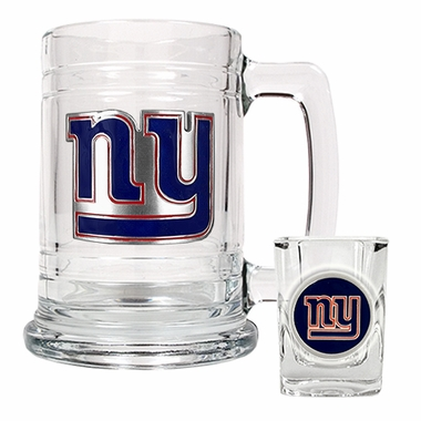 New York Giants Boilermaker Set
