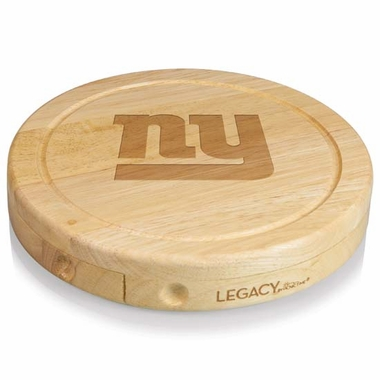 New York Giants Brie Cheese Board