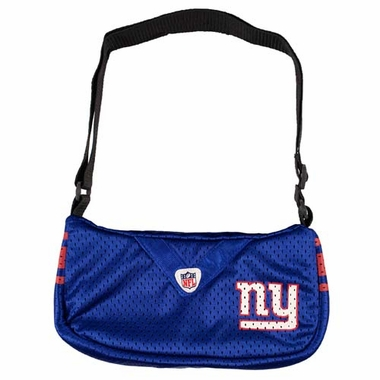 New York Giants Jersey Material Purse