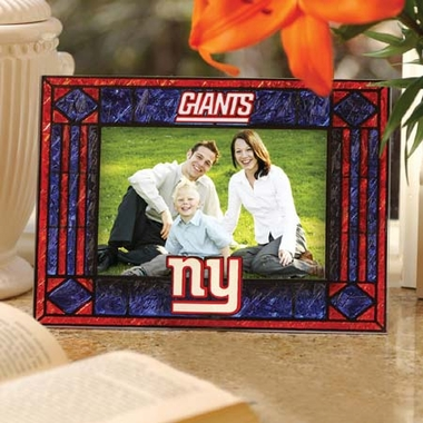 New York Giants Landscape Art Glass Picture Frame