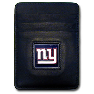New York Giants Leather Money Clip (F)