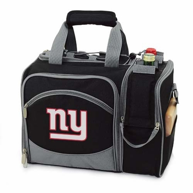 New York Giants Malibu Picnic Cooler (Black)
