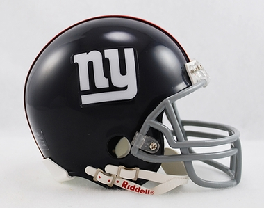 New York Giants 1961-74 Throwback Replica Mini Helmet w/ Z2B Face Mask