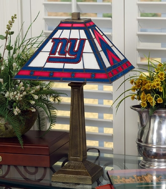 New York Giants Mission Lamp