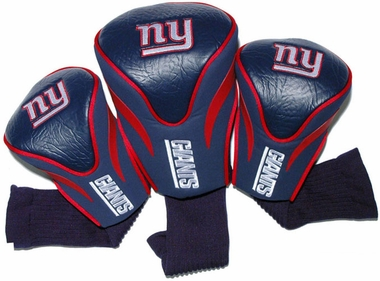 New York Giants Set of Three Contour Headcovers