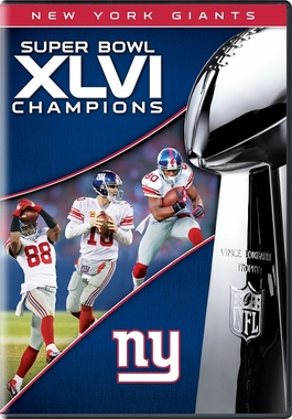 New York Giants Super Bowl XLVI Champs DVD