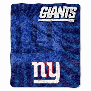 New York Giants Super-Soft Sherpa Blanket
