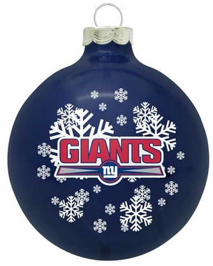 New York Giants Traditional Ornament