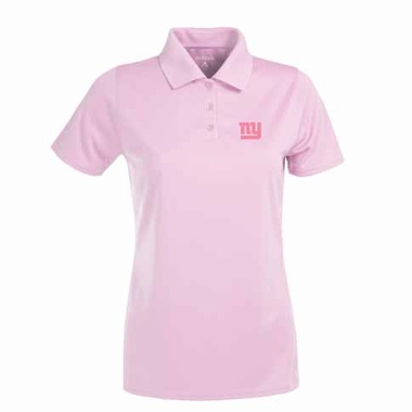 New York Giants Womens Exceed Polo (Color: Pink)