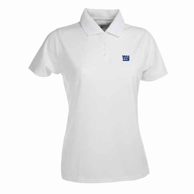 New York Giants Womens Exceed Polo (Color: White)