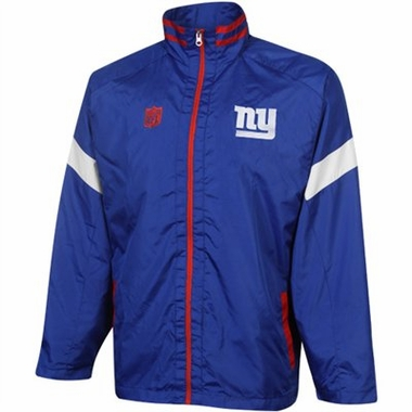 New York Giants YOUTH Goal Post Lightweight Full Zip Jacket