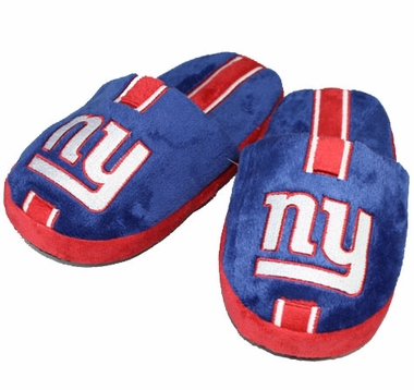 New York Giants YOUTH Team Stripe Slide Slippers