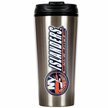 New York Islanders 16 oz. Thermo Travel Tumbler