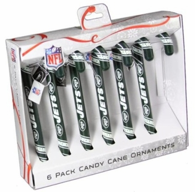 New York Islanders 2010 Set of 6 Candy Cane Ornaments