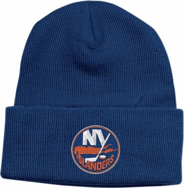 New York Islanders Basic Logo Cuffed Knit Hat