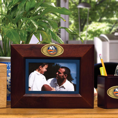 New York Islanders BROWN Landscape Picture Frame