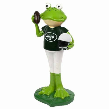New York Jets 12 Inch Frog Player Figurine