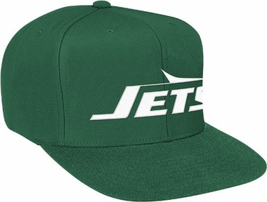 New York Jets Basic Logo Snap Back Hat