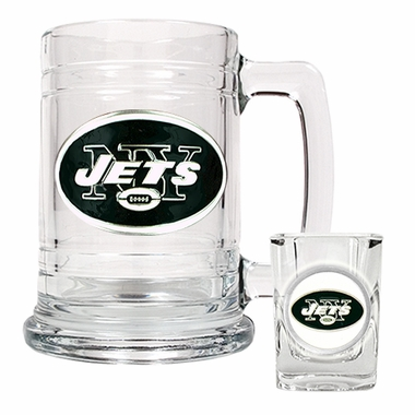 New York Jets Boilermaker Set