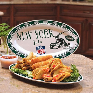 New York Jets Ceramic Platter