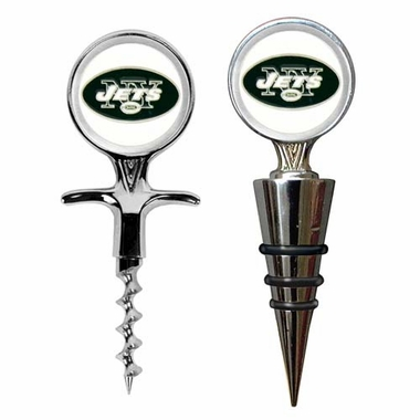 New York Jets Corkscrew and Stopper Gift Set