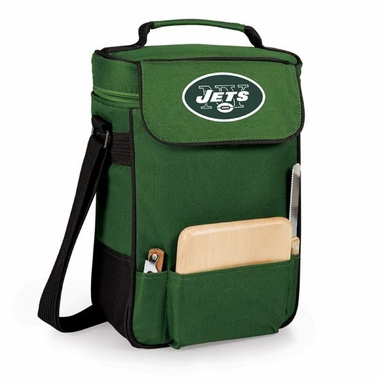 New York Jets Duet Compact Picnic Tote (Hunter Green)