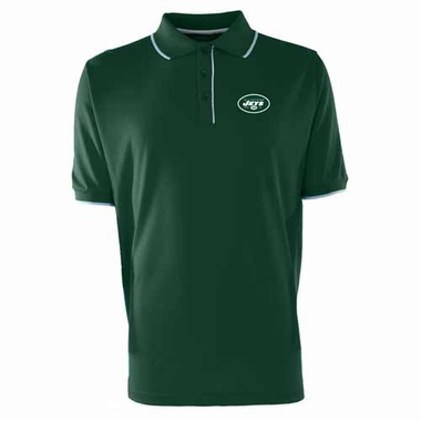 New York Jets Mens Elite Polo Shirt (Color: Green)