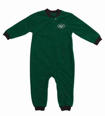 New York Jets Fleece Toddler Sleeper Pajamas