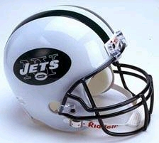 New York Jets Riddell Deluxe Replica Helmet