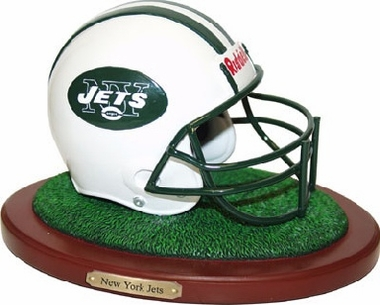 New York Jets Helmet Figurine
