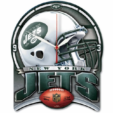 New York Jets High Definition Wall Clock
