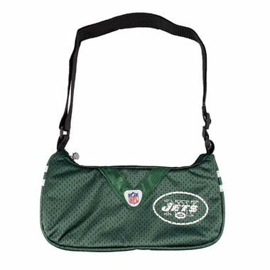 New York Jets Jersey Material Purse