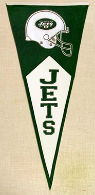 New York Jets Large Wool Pennant