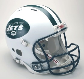 New York Jets Revolution Pro Line Helmet