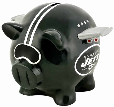New York Jets Piggy Bank - Thematic Small