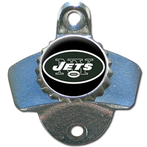 New York Jets Wall Mount Bottle Opener (F)