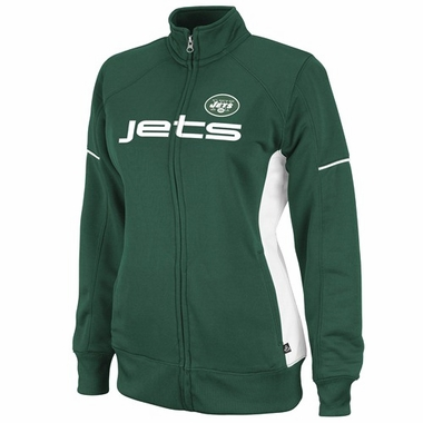 New York Jets Womens Counter Full Zip Track Jacket