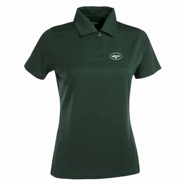 New York Jets Womens Exceed Polo (Color: Green)