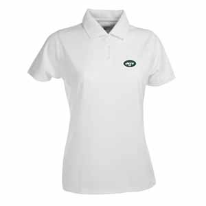 New York Jets Womens Exceed Polo (Color: White) - Small