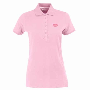 New York Jets Womens Spark Polo (Color: Pink)