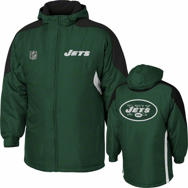New York Jets YOUTH Field Goal Midweight Full Zip Hooded Jacket