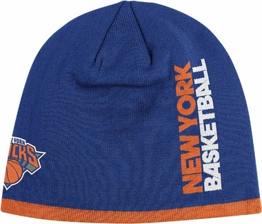 New York Knicks Authentic Team Cuffless Knit Hat