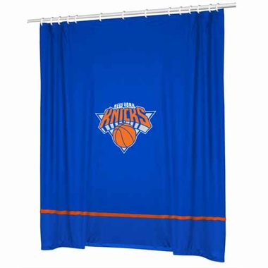 New York Knicks Jersey Material Shower Curtain