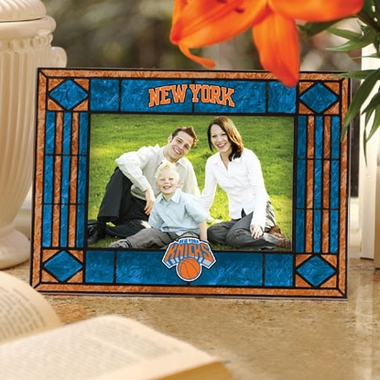 New York Knicks Landscape Art Glass Picture Frame